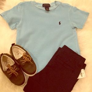 Toddler Polo Turquoise top